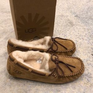Brand new with box ugg moccasins size 7